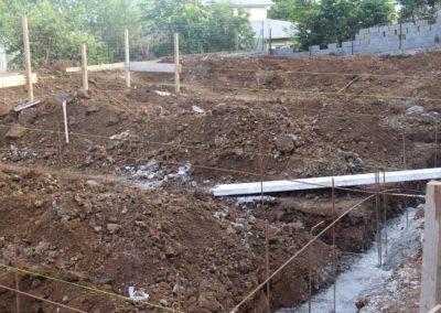travaux creusement fondation maison réunion 2