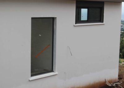 pose fenêtre vitrée réunion